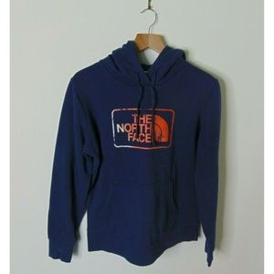 The North Face M Hoodie Sweatshirt Blue Pullover